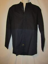 mens ecko premio button front shirt M nwt  $68 black and blue