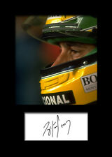 ARYTON SENNA #3 Signed Photo Print A5 Mounted Photo Print - FREE DELIVERY