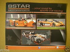 2013 ALMS PETIT LE MANS 8 STAR Hero Card SIGNED