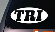 Tri Decal Sticker Triathalon Decal Sticker Ironman 6""