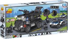 COBI - Action Town S.W.A.T. Team 500 Piece Block Set #NEW
