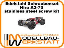 XXL Edelstahl Schrauben Set HPI Trophy 4.6 Truggy Niro A2 stainless screw kit