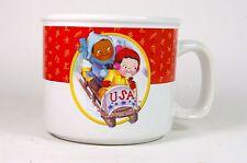 Campbell's Soup Mug USA Olympic Bobsled 2002