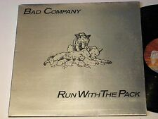 BAD COMPANY - RUN WITH THE PACK, SS 8503 SWAN SONG