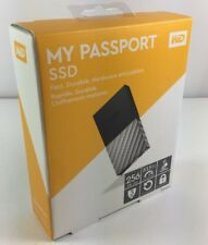 WD My Passport External SSD 256 GB Black & Silver