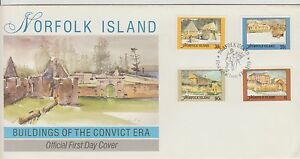 Norfolk Island Buildings of the Convict Era First Day Cover 1988