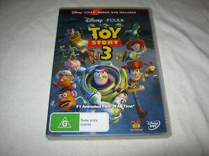 Toy Story 3 + Bonus Disc with 7 short Pixar films - VGC - DVD - R4