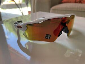 New Oakley Radar Path EV Prism White Sunglasses 009208-7328