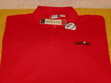 GENIE - Garage Door Opener Company - Embroidered Red GOLF Polo Shirt New! NWT XL