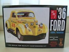 AMT - (1936) '36 FORD COUPE / ROADSTER CONVERTIBLE (3 IN 1) MODEL KIT (SEALED)