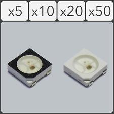 WS2812B 5050 SMD Addressable Digital RGB LED 4 pin Chip 5V - Black or White