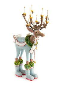 "NEW 12"" Patience Brewster Dasher Reindeer Figure Krinkles DASHAWAY Dept 56"