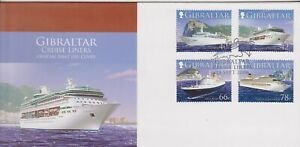 GB - Gibraltar 2006 Cruise Liners - Ships Series 2 SG 1179-1182 FDC