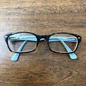 Ray Ban Eyeglasses Women RB 5150 5023 Tortoise/Blue Full Frame Only 50 19 135