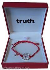 Silver TRUTH Wealth Kalachakra Cord Bracelet