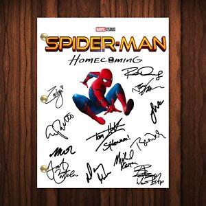 Spiderman Homecoming Signed Autographed Script Full Transcript Reprint Spiderman