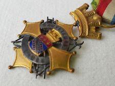 Médaille des sauveteurs de l'Aube ruban et rosace -
