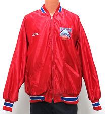 vtg 1990 NCAA FINAL FOUR DENVER Red Jacket 3XL college basketball 90s DeLong