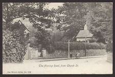 Gloucestershire. Stroud. Nailsworth. Avening Road from Church Street. 1903 Card