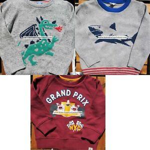 Gap Boys Size 4 ~ Sweaters & Sweatshirt ~ Shark Dragon Race Car Brand NEW $110