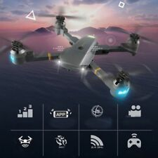 Phone Control Foldable Selfie Drones Tracker Drones Toys with Wifi FPV HD Camera