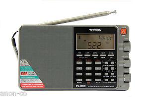 TECSUN PL-880 (grey) PLL Triple Conversion AM/FM/LW/SW SSB Radio << 8820 >>