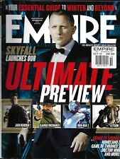Empire Magazine James Bond Skyfall Jack Reacher Iron Man 3 Django Unchained 2012