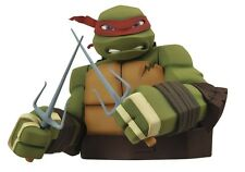 Diamond Select Teenage Mutant Ninja Turtles set of 4 Bust Banks! Raphael! Leo+