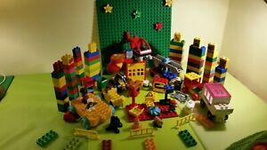 Lego duplo XXL konvolut Sammlung Bauplatte tiere Figuren Autos steine