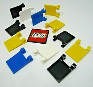 LEGO Flag 2x2 with 2 Clips - Pick Your Colour (Pack of 2) - Design 2335 / 11055