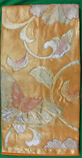 Original Vintage Japanese Obi Sash Butterfly and Flowers w/Wrapper