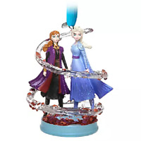 Disney Frozen 2 Anna and Elsa Sketchbook Ornament - New With Tag - In Hand