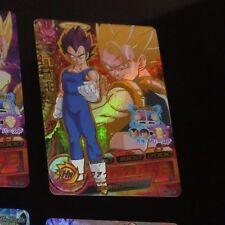 DRAGON BALL Z DBZ DBS HEROES CARD PRISM HOLO CARTE HG2-CP2 CP MADE IN JAPAN NM