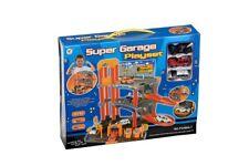 SUPER GARAGE PLAYSET - 3914 CAR PARK PETROL CAR WASH VEHICLE ELEVATOR KIDS TOY