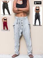 Pantaloni Etnici Donna Sportivi Larghi Woman Harem Ethnic Trousers TRA047