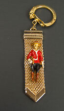 Vintage Canadian Mountie Metal keychain