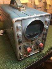 Vintage Tektronix 321a Battery Powered Oscilloscope Untested