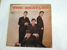 INTRODUCING THE BEATLES -(SUPER RARE VERSION 1 MONO-LOVE ME DO) -(ORIGINAL) VG