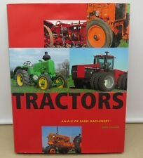 Tractors An A to Z of Farm Machinery by John Carroll Hardcover Book
