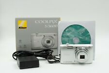 Nikon Coolpix - S-3600 20.1 MP Digital Camera in Very Good Condition