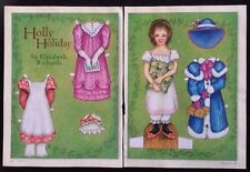 Holly Holiday Paper Doll by Elizabeth Richards, Mag. Pd. 2006