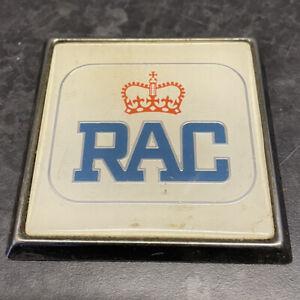 Vintage 80's 90's RAC Car Badge Good Condition