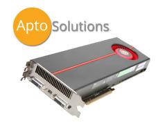ATI Radeon HD 5970 Video Card 2GB GDDR5 Dell P/N: 0DW5CW  used
