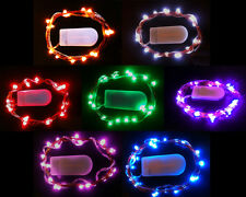 SUBMERSIBLE BATTERY OPERATED 20 LED STRING LIGHTS FLORAL VASE WEDDING