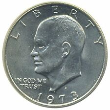 1 U.S. Eisenhower Ike $1 Dollar Coin 1971 to 1978 Collectors Coin Free Shipping