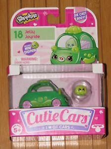 Shopkins Cutie Cars #18 Jelly Joyride Die Cast Car with Mini Shopkins New