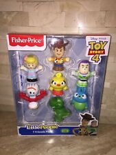 FISHER PRICE TOY STORY 4 LITTLE PEOPLE FIGURE SET OF 7