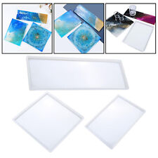 Silicone Tray Molds, Rectangle Rolling Tray Molds, Large Tray Molds for Epoxy