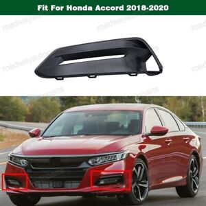 1Pcs New Front Bumper Left Fog Light Lamp Cover Trim for Honda Accord 2018-2020