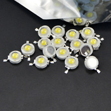10//20//50//100pcs 1W High Power LED Chip SMD Beads Warm Pure Weiß Rot AHS